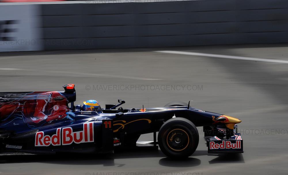 Torro Rosso driver Sebastien Bordais photographed during Qualifying for the 2009 Monaco Grand Prix.
