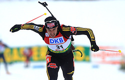 Alexander Wolf (GER) at Men 20 km Individual at E.ON Ruhrgas IBU World Cup Biathlon in Hochfilzen (replacement Pokljuka), on December 18, 2008, in Hochfilzen, Austria. (Photo by Vid Ponikvar / Sportida)