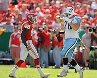 Tennessee Titans vs. Kansas City Chiefs in Kansas City on October 19, 2008.