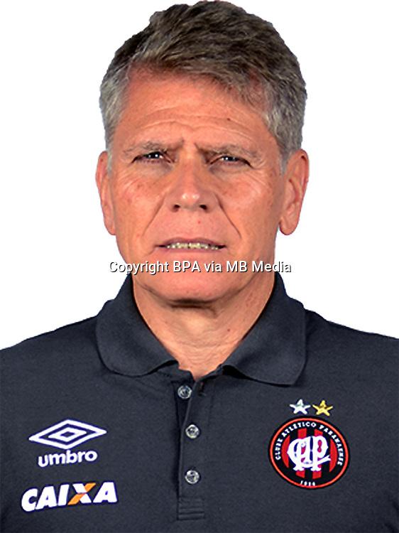 Brazilian Football League Serie A / <br /> ( Clube Atletico Paranaense ) - <br /> Paulo Autuori de Mello - DT Clube Atletico Paranaense