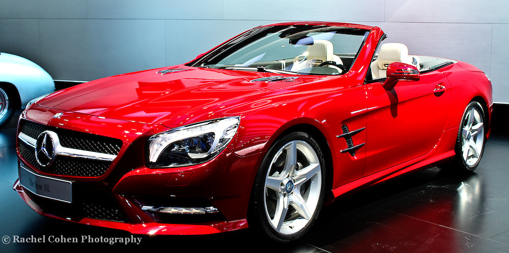 &quot;Mercedes Convertible&quot; <br /> <br /> A red hot Mercedes S Class convertible!! A beautiful luxury sports car!!<br /> <br /> Cars and their Details by Rachel Cohen