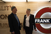 BEN LANGLANDS; NIKKI BELL, Beauty- Immortality, Frank Pick , unveiling of a  new artwork by Langlands & Bell at Piccadilly Circus Station  and the  VIP Reception at London Transport Museum, Covent Garden. 7 November 2016