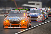 19th May 2018, Winton Motor Raceway, Victoria, Australia; Winton Supercars Supersprint Motor Racing; Nick Percat drives the number 8 Brad Jones Racing Holden Commodore ZB during race 13 of the 2018 Supercars Championship