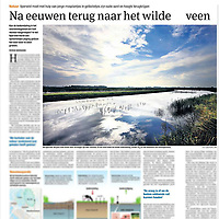 Parool 14 oktober 2013: veengebied Ilperveld