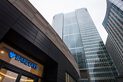 General view of Barclays Bank's UK headquarters, in Canary Wharf, London. The bank is one of several rumoured to be planning a move to Frankfurt after the UK's decision to leave the European Union. PRESS ASSOCIATION Photo. Picture date: Wednesday November 23rd, 2016. Photo credit should read: Matt Crossick/PA Wire