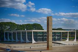 Prédio do STF - Supremo Tribunal Federal, na Praça dos Três Poderes, em Brasília. FOTO: Jefferson Bernardes/ Agência Preview