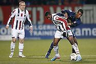 Onderwerp/Subject: Willem II - PSV - Eredivisie<br /> Reklame:  <br /> Club/Team/Country: <br /> Seizoen/Season: 2012/2013<br /> FOTO/PHOTO: Virgil MISIDJAN (L) of Willem II in duel with Georginio WIJNALDUM (R) of PSV and Kees VAN BUUREN (BEHIND) of Willem II. (Photo by PICS UNITED)<br /> <br /> Trefwoorden/Keywords: <br /> #04 $94 &plusmn;1355239962240 &plusmn;1355239962240<br /> Photo- &amp; Copyrights &copy; PICS UNITED <br /> P.O. Box 7164 - 5605 BE  EINDHOVEN (THE NETHERLANDS) <br /> Phone +31 (0)40 296 28 00 <br /> Fax +31 (0) 40 248 47 43 <br /> http://www.pics-united.com <br /> e-mail : sales@pics-united.com (If you would like to raise any issues regarding any aspects of products / service of PICS UNITED) or <br /> e-mail : sales@pics-united.com   <br /> <br /> ATTENTIE: <br /> Publicatie ook bij aanbieding door derden is slechts toegestaan na verkregen toestemming van Pics United. <br /> VOLLEDIGE NAAMSVERMELDING IS VERPLICHT! (&copy; PICS UNITED/Naam Fotograaf, zie veld 4 van de bestandsinfo 'credits') <br /> ATTENTION:  <br /> &copy; Pics United. Reproduction/publication of this photo by any parties is only permitted after authorisation is sought and obtained from  PICS UNITED- THE NETHERLANDS