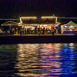 Das Mainufer bei Nacht / The Main river at night