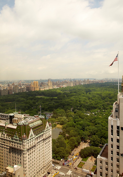 View of Central Park and The Plaza from 721 Fifth Avenue