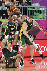 Spain-Basketball, FBIA World Cup, New Zealand v Lithuania