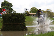 Lissa Green on Corraggio Z during the International Horse Trials at Chatsworth, Bakewell, United Kingdom on 12 May 2018. Picture by George Franks.