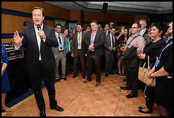 Image ©Licensed to i-Images Picture Agency. 28/09/2014. Birmingham, United Kingdom. The Prime Minister David Cameron attends Day one of the  Conservative Party Conference.Picture by Andrew Parsons / i-Images