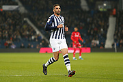 Hal Robson-Kanu in action during the EFL Sky Bet Championship match between West Bromwich Albion and Bristol City at The Hawthorns, West Bromwich, England on 27 November 2019.