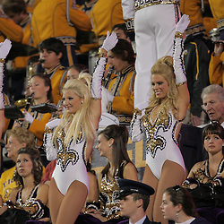 Oct 31, 2009; Baton Rouge, LA, USA;  LSU Tigers Golden Girls dance squad performs in the stands during a game against the Tulane Green Wave at Tiger Stadium. LSU defeated Tulane 42-0. Mandatory Credit: Derick E. Hingle