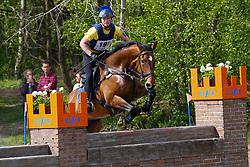 Janssens Jef, BEL, Happy-Boy<br /> Nationale LRV-Eventingkampioenschap Ponies Minderhout 2017<br /> © Hippo Foto - Kris Van Steen<br /> 30/04/17