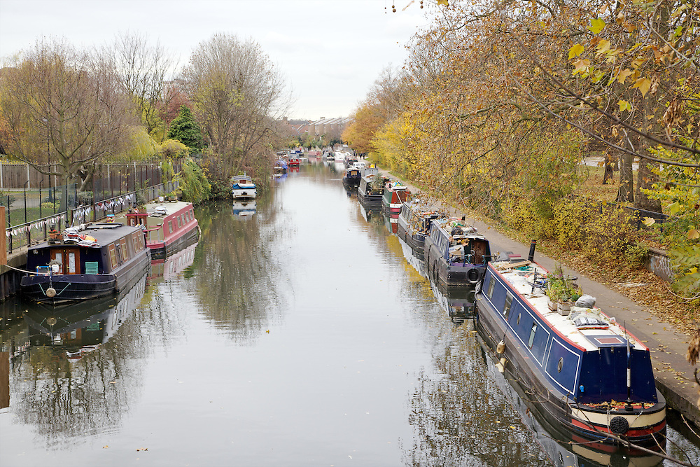 View of Regent's Canal from Victoria Park, Hackney, London CREDIT: Vanessa Berberian for The Wall Street Journal<br /> HACKNEY-Lana Wrightman