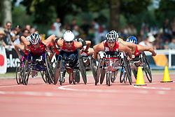 WOLF Edith, SCHAER Manuela, SUI, 1500m, T54, 2013 IPC Athletics World Championships, Lyon, France
