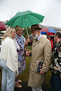 LESLEY KING-LEWIS, TANIA BRYER AND PRINCE MICHAEL OF KENT, Cartier Style et Luxe lunch. Goodwood.  24 June 2007.  -DO NOT ARCHIVE-© Copyright Photograph by Dafydd Jones. 248 Clapham Rd. London SW9 0PZ. Tel 0207 820 0771. www.dafjones.com.