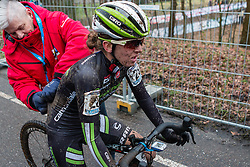 Kaitlin Antonneau (USA), Women, Cyclo-cross World Cup Hoogerheide, The Netherlands, 25 January 2015, Photo by Pim Nijland / PelotonPhotos.com