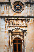 St. Saviour Church, old town Dubrovnik, Dalmatian Coast, Croatia