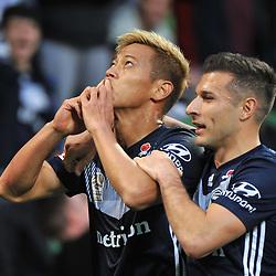 Melbourne Victory v Central Coast Mariners, A-League, 11 November 2018