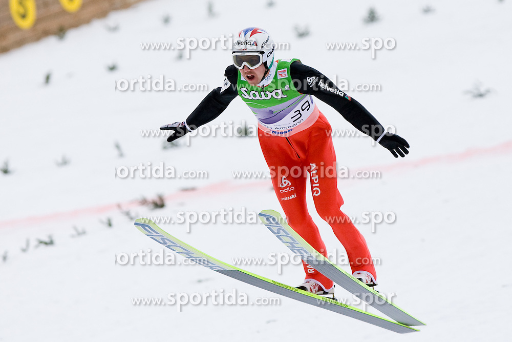 Simon AMMANN of Switzerland during Flying Hill Individual First Round at 2st day of FIS Ski Jumping World Cup Finals Planica 2011, on March 17, 2011, Planica, Slovenia. (Photo By Matic Klansek Velej / Sportida.com)