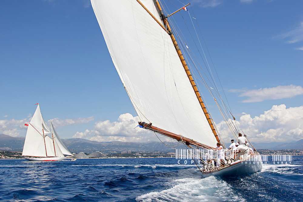 Mariquita and Orion.Voiles d'Antibes 2007.