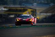 June 13-18, 2017. 24 hours of Le Mans. 65 Scuderia Corsa, Ferrari 488 GTE, Christina Nielsen, Alessandro Balzan, Bret Curtis