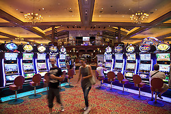 June 3, 2016 - Slot machines of the Gold Reef City Casino and Hotel in Johannesburg, Gauteng, South Africa, Africa (Credit Image: © AGF via ZUMA Press)