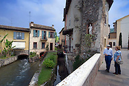 Borhetto, Lago di Garda, Italy, May 2009. The Village of Borghetto. The northern part of the lake area is loved by sportive people, while the south is known for its relxed atmosphere. Photo by Frits Meyst/Adventure4ever.com
