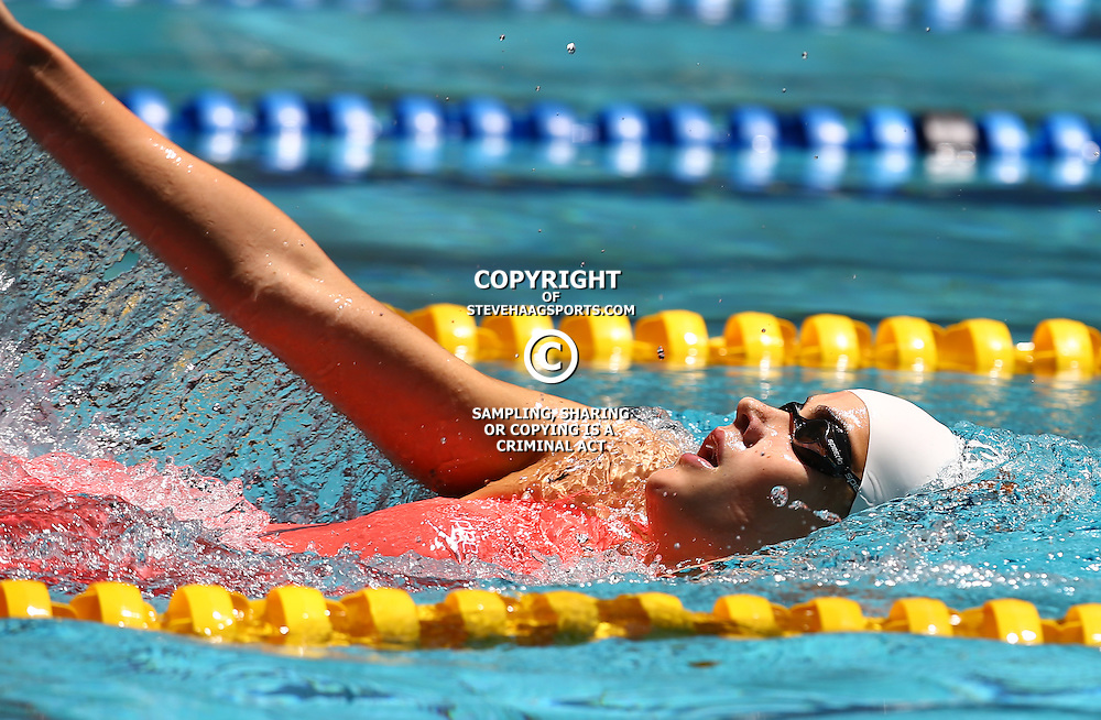 DURBAN, SOUTH AFRICA, February 6 2016 - Rebecca Meder  Women 400 LC M IM during Day 3  the second&nbsp;leg of the 2016 South African Swimming Grand Prix series at the  Kings Park Swimming Pool Durban South Africa. (Photo by Steve Haag)<br /> Images for social media must have consent from Steve Haag