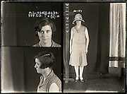 The barber shop slasher, the back-street abortionist and the 'parasite in a skirt': Vintage Australian mugshots reveal some of the country's earliest women criminals<br /> <br /> Haunting images of the past have emerged, showing vintage black and white portraits of Australian women.<br /> But these are no ordinary women. These are the not-so-innocent faces of convicted criminals who were put behind bars from the 1880s to 1930s.<br /> Among them include the infamous razor gangster and prominent madam of the times - Matilda 'Tilly' Devine.<br /> Others include backyard abortionists, drug dealers and those convicted of bigamy, drunkenness and theft.<br /> most of them were sent to the State Reformatory for Women, Long Bay - south of Sydney - which is now known asLong Bay Correctional Complex.<br /> <br /> <br /> Photo shows:  Margaret Lee Teale, criminal record number 757LB, 8 April 1929. State Reformatory for Women, Long Bay, NSW<br /> <br /> Margaret Teale moved to the small Riverina town of Beckom where she married John Selby. Unfortunately, her first husband, Ernest Teale of Windsor, was still alive. She was charged with bigamy and sentenced to six months gaol. Aged 25.<br /> ©NSW Police Gazette/Exclusivepix