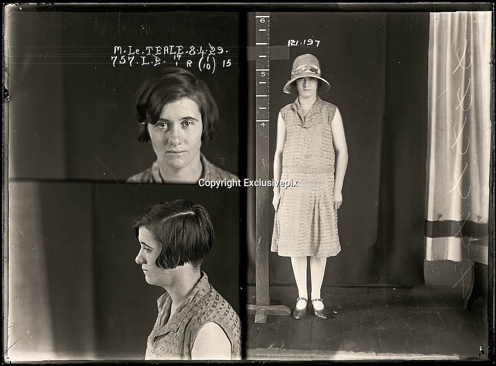 The barber shop slasher, the back-street abortionist and the 'parasite in a skirt': Vintage Australian mugshots reveal some of the country's earliest women criminals<br /> <br /> Haunting images of the past have emerged, showing vintage black and white portraits of Australian women.<br /> But these are no ordinary women. These are the not-so-innocent faces of convicted criminals who were put behind bars from the 1880s to 1930s.<br /> Among them include the infamous razor gangster and prominent madam of the times - Matilda 'Tilly' Devine.<br /> Others include backyard abortionists, drug dealers and those convicted of bigamy, drunkenness and theft.<br /> most of them were sent to the State Reformatory for Women, Long Bay - south of Sydney - which is now known as&nbsp;Long Bay Correctional Complex.<br /> <br /> <br /> Photo shows:  Margaret Lee Teale, criminal record number 757LB, 8 April 1929. State Reformatory for Women, Long Bay, NSW<br /> <br /> Margaret Teale moved to the small Riverina town of Beckom where she married John Selby. Unfortunately, her first husband, Ernest Teale of Windsor, was still alive. She was charged with bigamy and sentenced to six months gaol. Aged 25.<br /> &copy;NSW Police Gazette/Exclusivepix