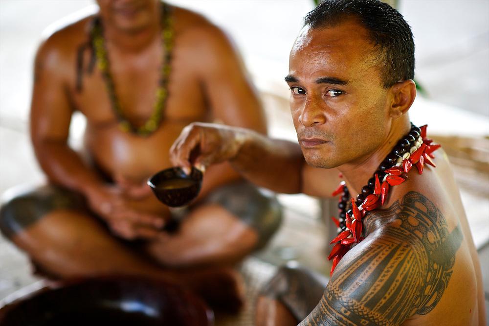 Kava Ceremony, American Samoa