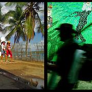DAILY VENEZUELA II / VENEZUELA COTIDIANA II<br /> Photography by Aaron Sosa <br /> <br /> Left: Archipielago de Los Testigos, Dependencias Federales - Venezuela 2005<br /> <br /> Right: Palmeros of Chacao, Caracas - Venezuela 2009 / Palmeros de Chacao, Caracas - Venezuela 2009<br /> <br /> (Copyright © Aaron Sosa)