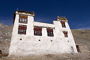 Leh - Friday, Dec 08 2006: Image of a house in the Hemis National Park. (Photo by Peter Horrell / http://www.peterhorrell.com)