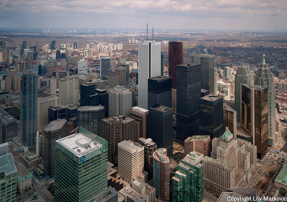 Toronto Downtown from above