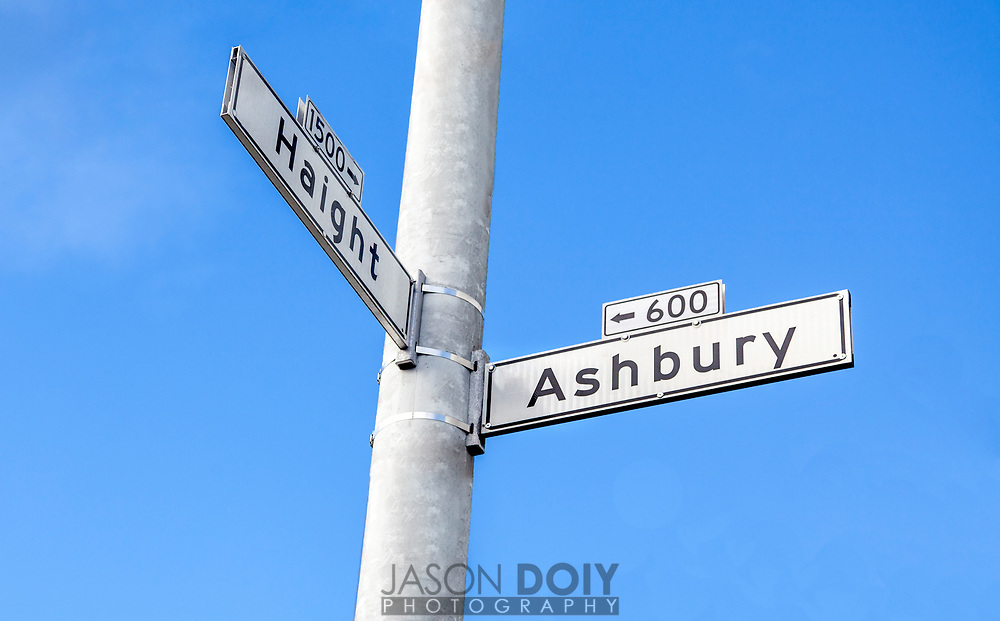 Haight Ashbury district in San Francisco