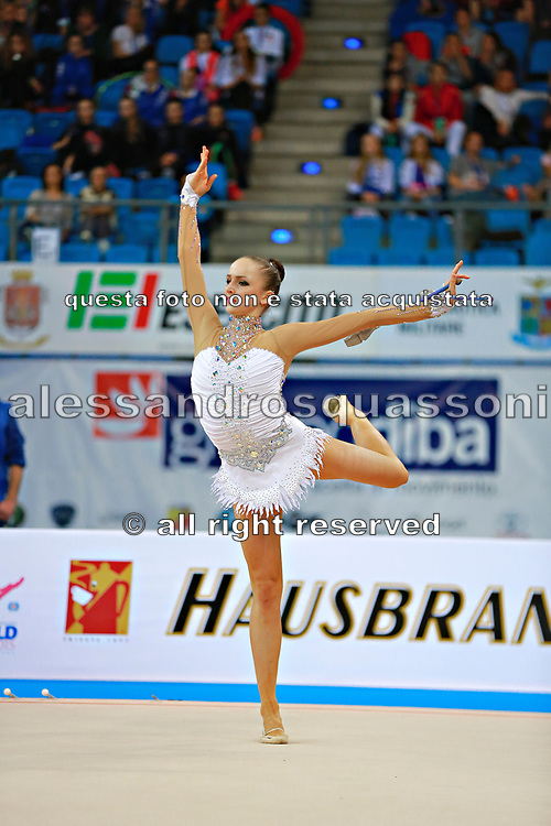 Durunda Marina during final at ball in Pesaro World Cup 12 April 2015.<br />