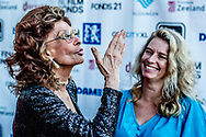 VLISSINGEN - Actrice Sophia Loren op de rode loper bij het Film by the Sea festival. ANP KIPPA ROBIN UTRECHT