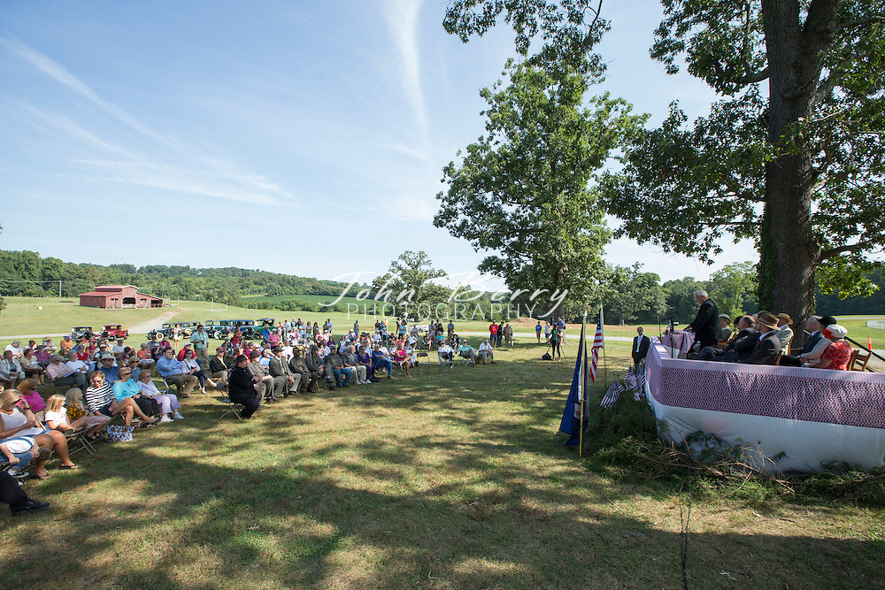 August 16, 2014.  <br /> Madison County Day.  Hoover Day.  At Hoover Ridge.