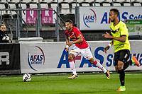 ALKMAAR - 12-09-2017, Jong AZ - Telstar, AFAS Stadion, 2-2, Jong AZ speler Ricardo van Rhijn