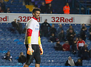 Jamal Blackman of Sheffield United warming up during the EFL Sky Bet Championship match between Leeds United and Sheffield Utd at Elland Road, Leeds, England on 27 October 2017. Photo by Paul Thompson.
