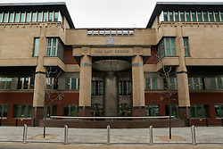 © Licensed to London News Pictures. 17/02/2017. Sheffield, UK.  Picture shows Sheffield Crown Court. 18-year-old Shea Peter Heeley appears at Sheffield Crown Court in South Yorkshire charged with the murder of Leonne Weeks. The body of 16-year-old Leonne was found with multiple stab wounds in the Dinnington area of South Yorkshire last month.  Photo credit : Ian Hinchliffe/LNP
