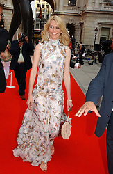 Model CLAUDIA SCHIFFER at the Royal Academy of Art's SUmmer Party following the official opening of the Summer Exhibition held at the Royal Academy of Art, Burlington House, Piccadilly, London W1 on 7th June 2006.<br /><br />NON EXCLUSIVE - WORLD RIGHTS