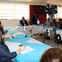 Toluca, Mex.- Agustín Albarrán Echeverría, presidente del Consejo Patronal del Valle de Toluca (COPARMEX) consideró que para que las medidas acordadas por los miembros del G-20, reunidos en Los Cabos, México, surtan efecto, se requieren impulsar las reformas estructurales que el país necesita, sobre todo en el aspecto fiscal y laboral. Agencia MVT / José Hernández. <br /> <br /> NO ARCHIVAR - NO ARCHIVE