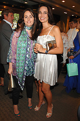 Left to right, TANIA FARES and MARINA RITOSSA at a n evening of private shopping in aid of Elizabeth Fitzroy Support at Tiffany & Co, 145 Sloane Street, London on 14th May 2008.<br /><br />NON EXCLUSIVE - WORLD RIGHTS