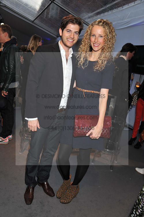 JACK & KATE FREUD at the Vogue Festival 2012 in association with Vertu held at the Royal Geographical Society, London on 20th April 2012.