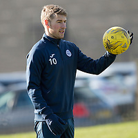 St Johnstone Training…22.02.16<br />David Wotherspoon pictured in training this morning ahead of tomorrow night's re-arranged game against Partick Thistle<br />Picture by Graeme Hart.<br />Copyright Perthshire Picture Agency<br />Tel: 01738 623350  Mobile: 07990 594431