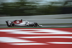 May 13, 2018 - Barcelona, Catalonia, Spain - MARCUS ERICSSON (SWE) drives during the Spanish GP at Circuit de Barcelona - Catalunya in his Alfa Romeo Sauber C37 (Credit Image: © Matthias Oesterle via ZUMA Wire)